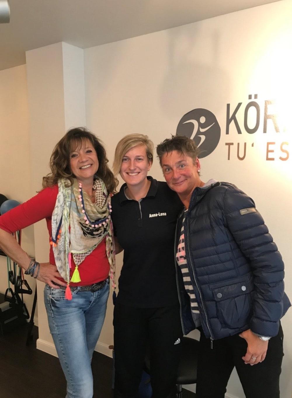 Erfolgsberichte des EMS-Training - Annette und Stefanie